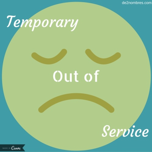 temporary-out-of-service